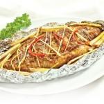 Cá điêu hồng nướng giấy bạc
