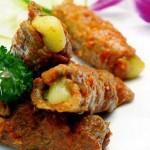 Bò cuộn phô mai  – món ngon cho ngày cuối tuần