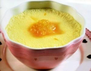 Bánh pudding trứng và tổ yến cho bé yêu