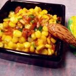Bắp xào ruốc và bơ – món ngon khó chối từ