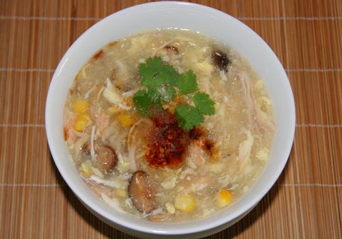 Soup cua món khai vị tuyệt vời