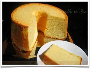 Cách làm bánh bông lan nướng đơn giản nhưng ngon tuyệt