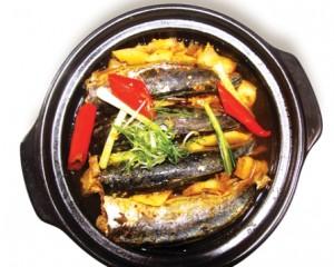 Cá nục kho khóm coi chừng hết cơm