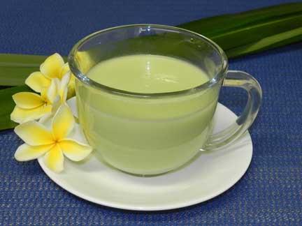 Sữa đậu xanh thơm ngon đến giọt cuối cùng