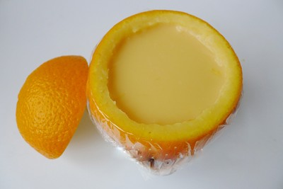 Bánh flan trái cam ngon mát cho cả nhà