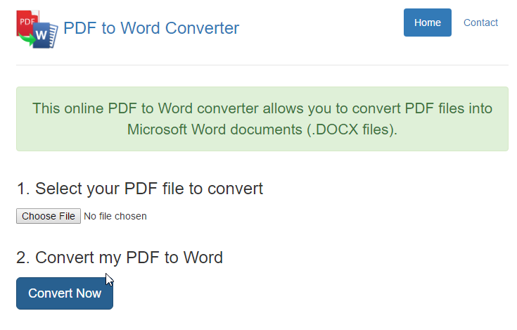 Chuyển từ PDF sang Word