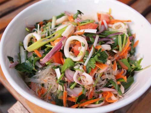 Miến trộn hải sản chua ngọt cho những ngày ngán cơm