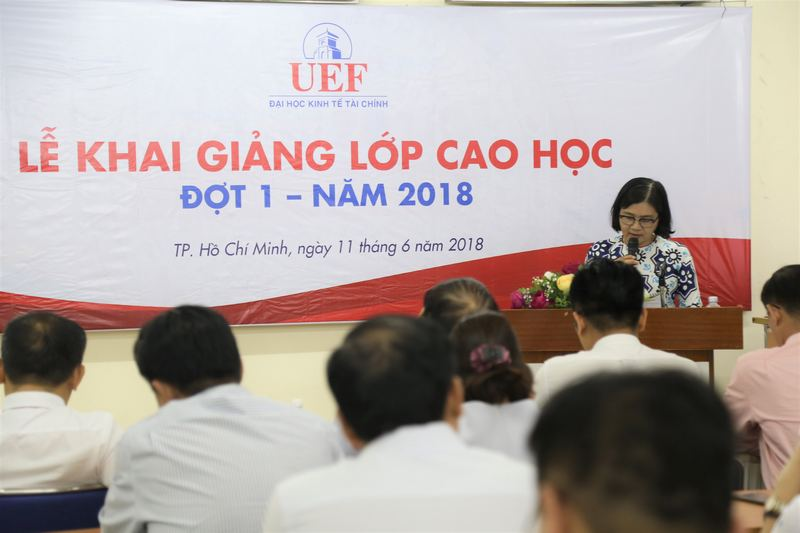 Kinh nghiệm học Thạc sĩ Kinh tế tại trường Đại học Kinh tế Tài chính Thành phố Hồ Chí Minh
